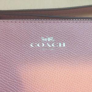 Coach Bags - BLUSH COACH WRISTLET